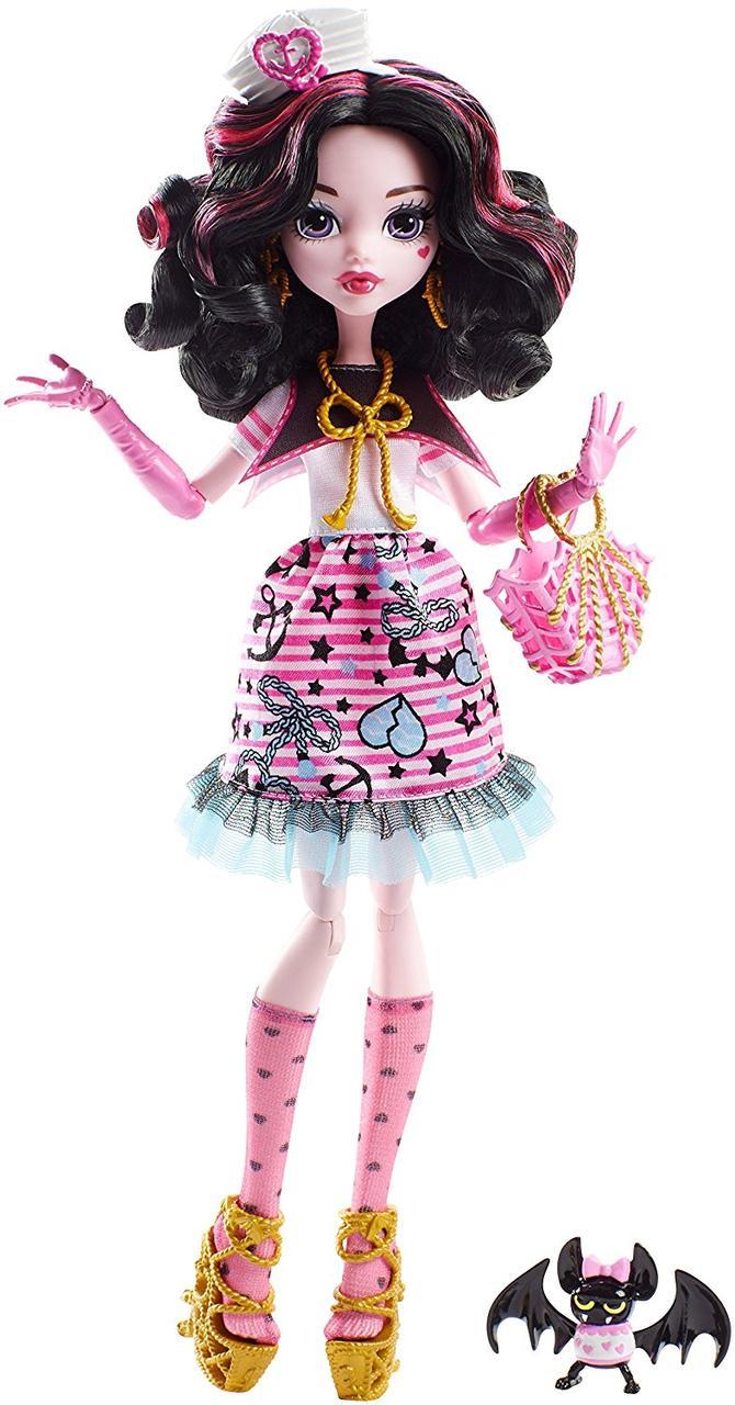 Кукла Монстер хай Дракулаура Кораблекрушение Monster High Shriekwrecked Nautical Ghouls Draculaura