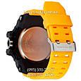 Электронные часы Casio G-Shock GWG 1000 Black/Yellow, спортивные часы Джи Шок(черно-желтые), реплика отличное качество!, фото 2