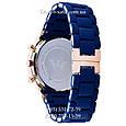 Мужские часы Emporio Armani blue-gold, элитные часы Эмпорио Армани синие-золото, реплика отличное качество , фото 2