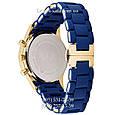 Мужские часы Emporio Armani blue-gold, элитные часы Эмпорио Армани синий-золото, реплика отличное качество! , фото 2