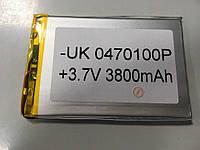 Внутренний Аккумулятор 3*69*102  (3800 mAh 3,7V) 0470100 AAA класс в Запорожье