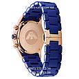 Часы элитные мужские Emporio Armani blue-gold, Эмпорио Армани синий-золото, реплика отличное качество!, фото 2