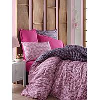 Комплект постельного белья евро размера Cotton Box GUSTO MURDUM CB56