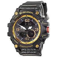 Электронные часы Casio G-Shock GG-1000 Black-Gold, спортивные часы Джи Шок черный-золото