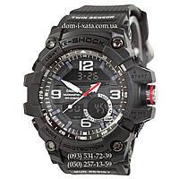 Электронные часы Casio G-Shock GG-1000 All Black, спортивные часы Джи Шок черный