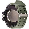Электронные часы Casio G-Shock GWG-1000 Black-Militari Wristband, спортивные часы Джи Шок черный-зеленый, реплика отличное качество, фото 2