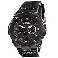 Электронные часы Casio G-Shock GST-210 All Black, спортивные часы Джи Шок черный