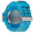 Электронные часы Casio G-Shock GG-1000 Mud-Turquoise, спортивные часы Джи Шок синий, реплика отличное качество!, фото 2