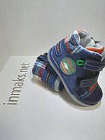 Ботинки детские демисезонный на липучке., фото 1