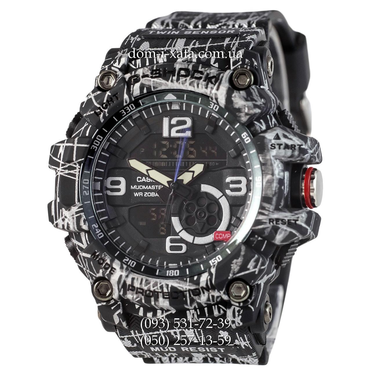 20f24d60 Электронные часы Casio G-Shock GG-1000 Mud-Black, спортивные часы Джи
