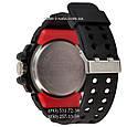 Электронные часы Casio G-Shock GWN-1000 Black-Red, спортивные часы Джи Шок черный-красный, реплика отличное качество!, фото 2