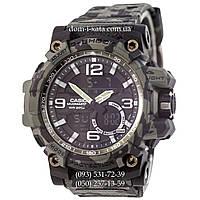 Электронные часы Casio G-Shock GG-1000 Militari-Dark Green , спортивные часы Джи Шок зеленый камуфляж