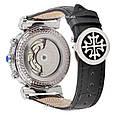 Мужские часы Patek Philippe Grand Complications Power Tourbillon Black-Silver, механические, элитные часы, реплика отличное качество, фото 2