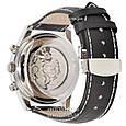 Мужские элитные часы Longines Master Collection Moonphases Black-Silver-Gold-Black, механические, Лонгинес, реплика отличное качество!, фото 2