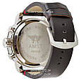 Армейские часы AMST 3022 Silver-Black Smooth Wristband, кварцевые, противоударные, армейские часы АМСТ, реплика отличное качество!, фото 2