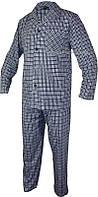 Мужская пижама верх и штаны Roober 7347 мелкая клетка