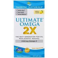 Nordic Naturals Ultimate Omega 2X 2150 мг 120 шт, офіційний сайт
