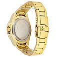 Мужские часы Rolex GMT-Master II Quarts Gold-Red-Blue, кварцевые часы Ролекс Мастер, реплика отличное качество!, фото 2
