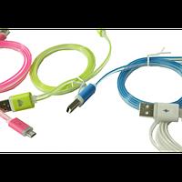 Кабель USB to micro USB (с подсветкой по всей длине, 1м)