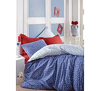 Комплект постельного белья евро размера Cotton Box PAVE BORDO CB56