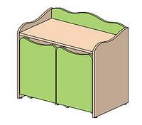 Детская мебель Столик 770х450х688 Кнопочка