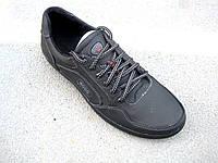 Мужские кожаные кроссовки  46, 47, 48, 49  р-р
