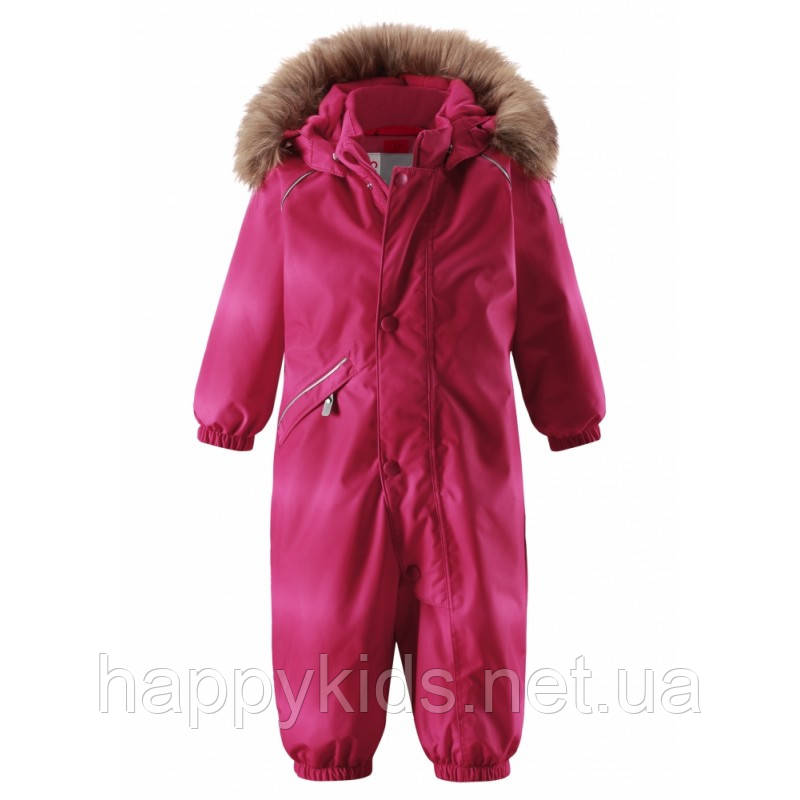 Детский зимний комбинезон для девочек ReimaTEC LAPPI 510267F-3566. Размеры 74 - 92.