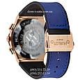 Мужские наручные часы Hublot 882888 Classic Fusion Blue-Gold-Blue, Хублот классик, реплика отличное качество!, фото 2