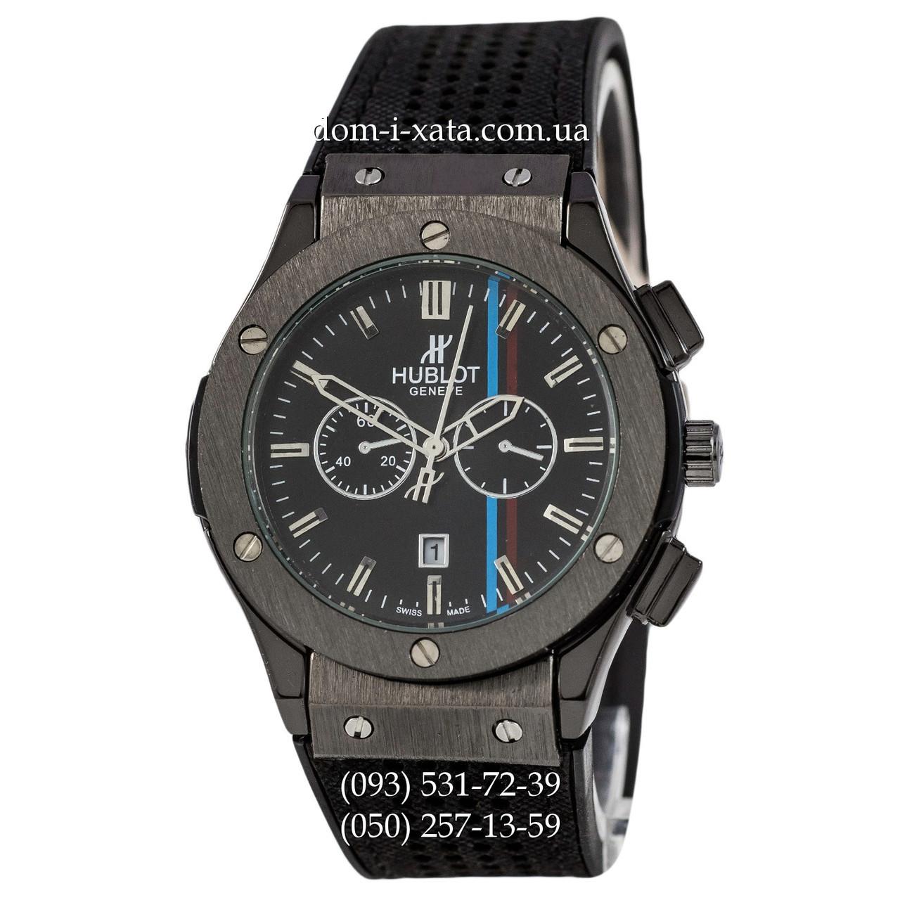 Мужские наручные часы Hublot 882888 Classic Fusion All Black, Хублот классик, реплика отличное качество!