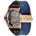 Мужские наручные часы Hublot 882888 Classic Fusion Crystal Blue-Gold-Blue, Хублот классик, реплика отличное качество!, фото 2