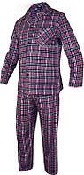 Комплект пижамы для сна в клетку Roober 7347