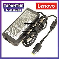 Блок питания для ноутбука LENOVO 20V 4.5A 90W square прямоугольный разъем, фото 1