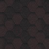 Битумная черепица Акваизол / Aquaizol Мозаика ЭКО коричневый