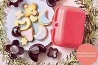 Формочки для печенья в ланч-боксе из экополимера Tupperware