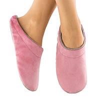 Домашние тапочки шлепки светло розовые багира, фото 1