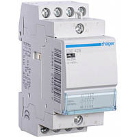Контактор ESC428 25А, 3НО+1НЗ, 230В модульний Hager