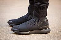 Мужские кроссовки Adidas Y-3 Qasa Black