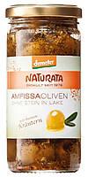 """Органические оливки """"Амфисса"""", без косточек с травами и лимоном, Naturata, 235 гр"""