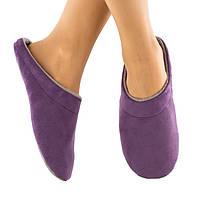 Домашние тапочки шлепки фиолетовые багира, фото 1