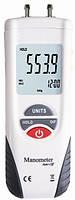 Цифровой дифференциальный манометр KCMOON HT-1890 (0.01/13,79 кПа) максимальное давление до 68,9 кПа