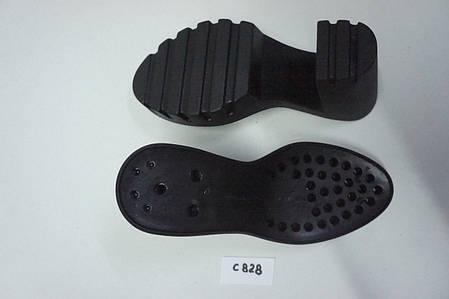 Подошва для обуви женская С 828 чорна р.36-40, фото 2