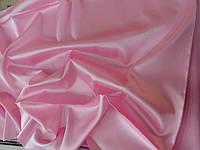 Ткань атлас стрейч шёлковый (светлая роза)