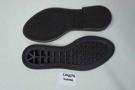 Подошва для обуви женская Сандра-4 коричнева р.36-41, фото 2
