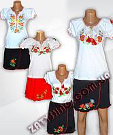 Комплект вышиванка + юбка вышитая детская