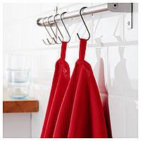 Кухонное полотенце IRIS красное