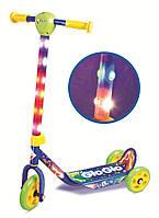 Скутер-самокат Hy-Pro Glo-Glo со светом Синий (92288)