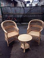 Мебель плетёная из лозы