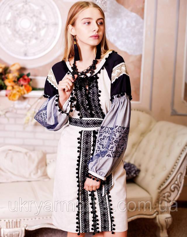 """Класна вишита сукня """"Чарівниця"""""""