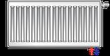 Сталевий (панельний) радіатор PURMO Ventil Compact т33 500x1000 нижнє підключення, фото 5