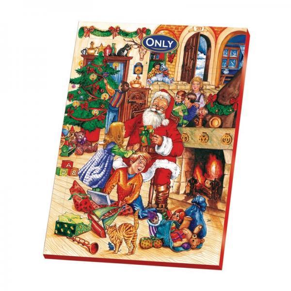 Новогодний шоколадный календарь ОNLY 75g